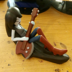 Picture of print of Marceline, The Vampire Queen© from Adventure Time™