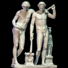 """Picture of print of Castor and Pollux, The """"San Ildefonso Group"""""""