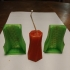 Twisted  Candle Mold image