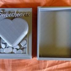 Sweethearts candy Box