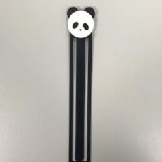 Picture of print of panda bookmark