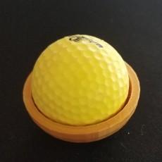 Catapult head - Golf ball holder