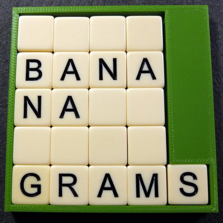 Tile Holder For Bananagrams R Letter Image