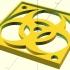 Customizable Biohazard Fan Guard image