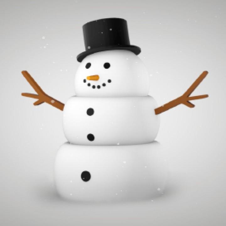 Snowman Tabletop