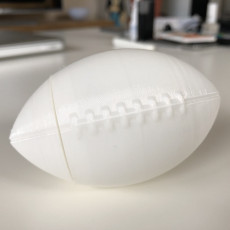 Picture of print of 3D Football