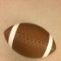 3D Football print image