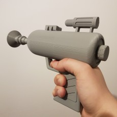 Rick and Morty's laser gun - functional, shoots NERF darts