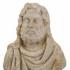 Bust of Serapis image