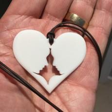 Heart Couple Pendant