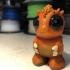 Baby Monster Orango print image