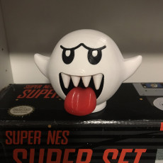Picture of print of Boo from Mario games - Multi color This print has been uploaded by Nolan