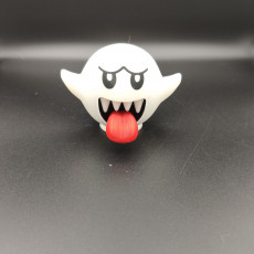 Picture of print of Boo from Mario games - Multi color This print has been uploaded by Patrick Born