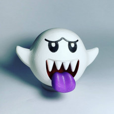 Picture of print of Boo from Mario games - Multi color This print has been uploaded by Luis Albero