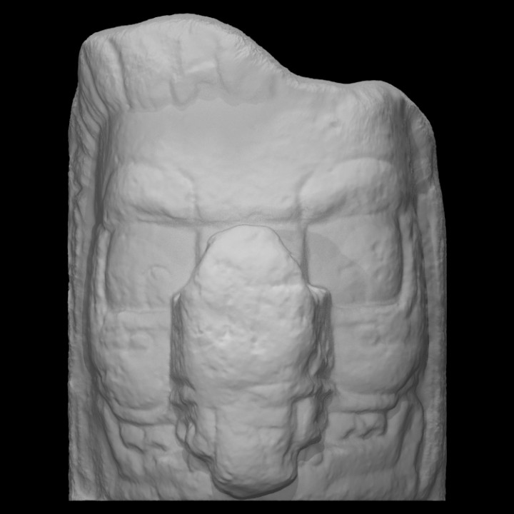 Head of Maya character [4]