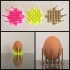 Egg cup pin image