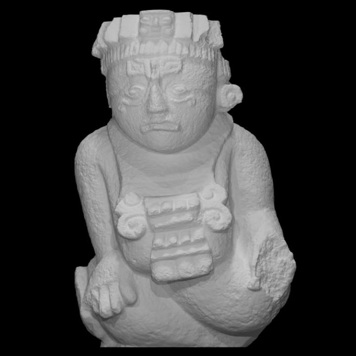 Sculpture of Personage of Ek Balam [2]