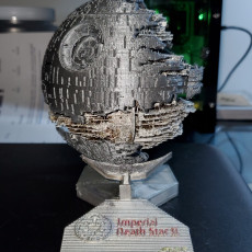 Picture of print of Death Star 2