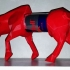 ESSO Red Bull Low Poly Red Bull image