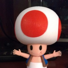 Picture of print of Toad from Mario games - Multi-color 这个打印已上传 Manuel Jesús