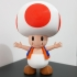 Toad from Mario games - Multi-color image