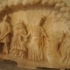 Votive relief in the shape of a cave image