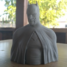 Picture of print of Batman - The Caped Crusader Bust This print has been uploaded by Kossel Linear+