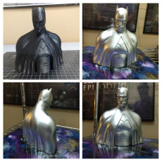 Picture of print of Batman - The Caped Crusader Bust This print has been uploaded by Levi Elston