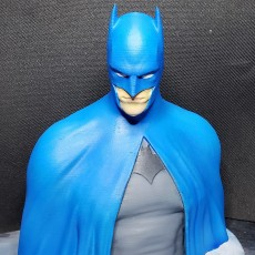 Picture of print of Batman - The Caped Crusader Bust This print has been uploaded by Marco Bocciarelli
