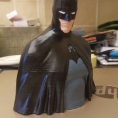 Picture of print of Batman - The Caped Crusader Bust Dieser Druck wurde hochgeladen von James Bourne
