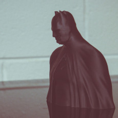 Picture of print of Batman - The Caped Crusader Bust This print has been uploaded by Shawn Avery