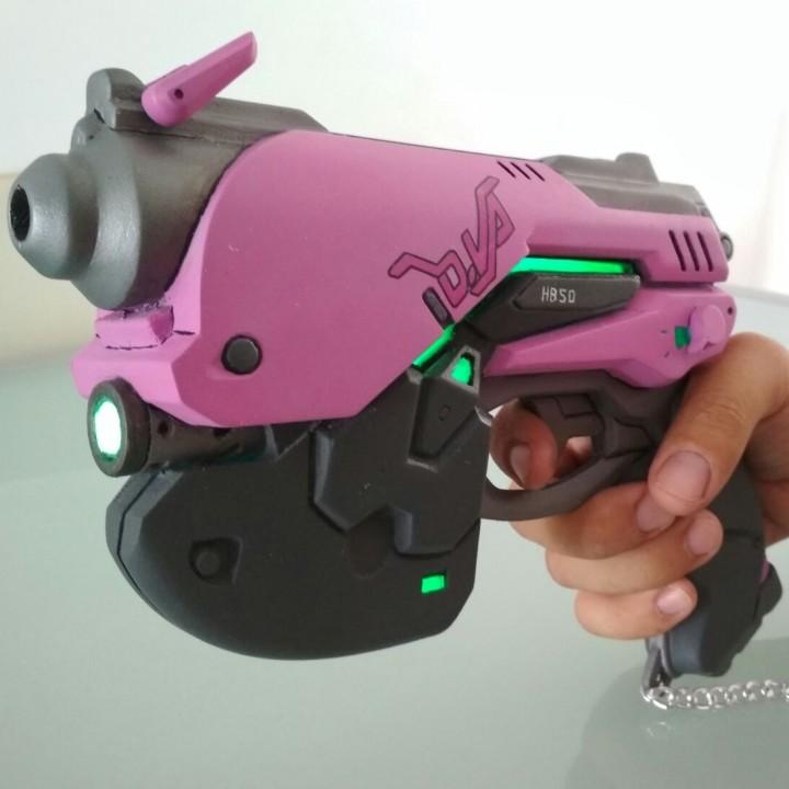 D.va Pistol Overwatch