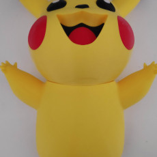 Picture of print of Pikachu wall art