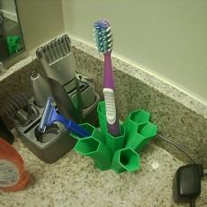 Toothbrush/Razor Stand