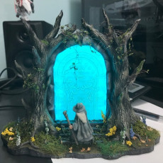 Picture of print of Doors of Durin