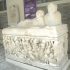 Sarcophagus with Amazonomachy scene image
