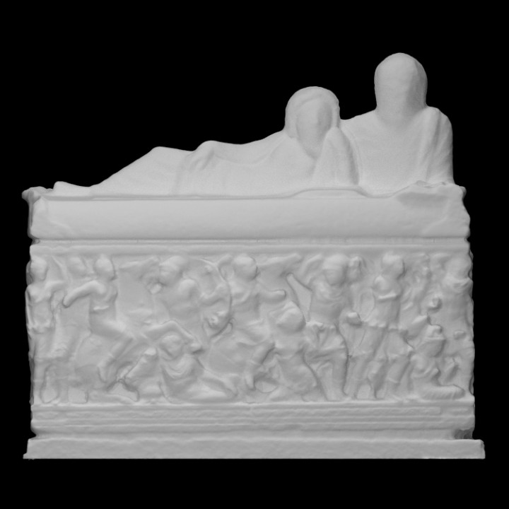 Sarcophagus with Amazonomachy scene