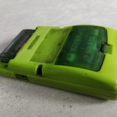 Picture of print of Gameboy Color Battery Cover