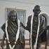 Gandhi and his wife Kasturba image