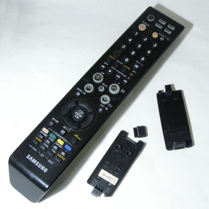 3D Printable Samsung TV Remote Control by Vaclav Krmela
