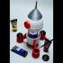Rocket Ship Art Palette 250ml slim can image