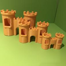 Picture of print of Aquarium Castle