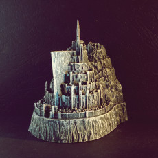 Picture of print of Minas Tirith