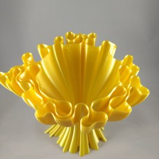 Picture of print of Wavy vase