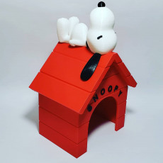 Picture of print of Snoopy