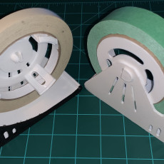 Picture of print of Painter's tape dispenser