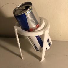 Gyroscopic 250ml Can Holder