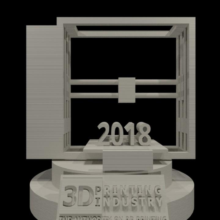 Official trophy design 3d competition
