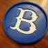 Brooklyn Dodgers Coaster image