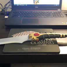 Picture of print of Catspaw Dagger - Game of Thrones